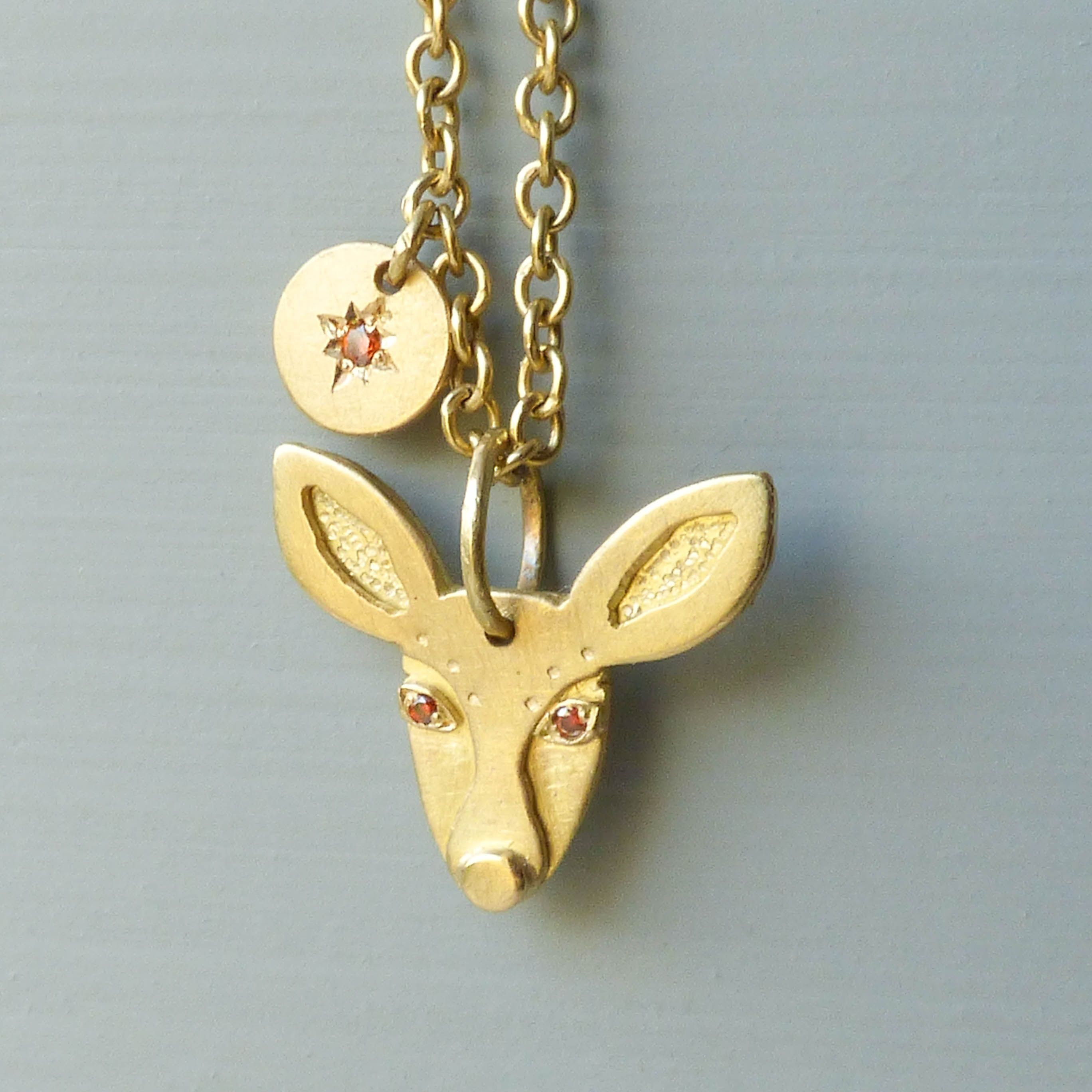 Fae is part of my Animal Amulets Collection which is inspired by the