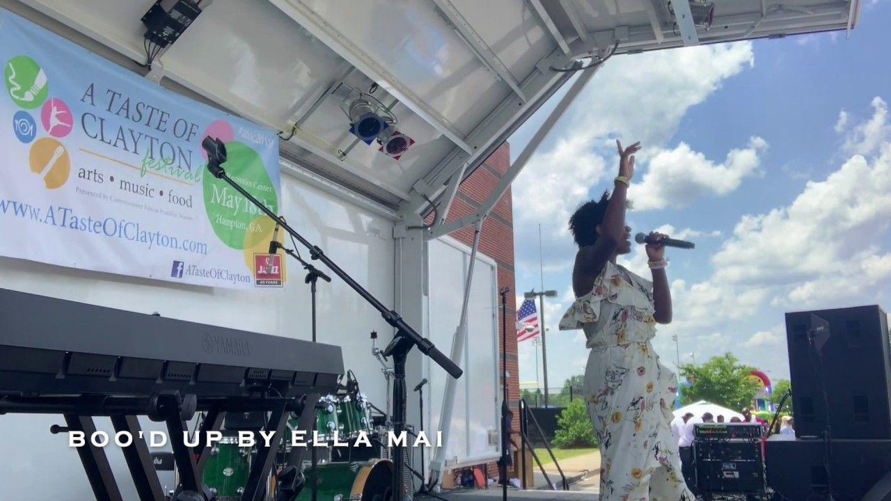 Ella Mai Boo'd Up by Skyler Reed Travel, Music, Fair grounds