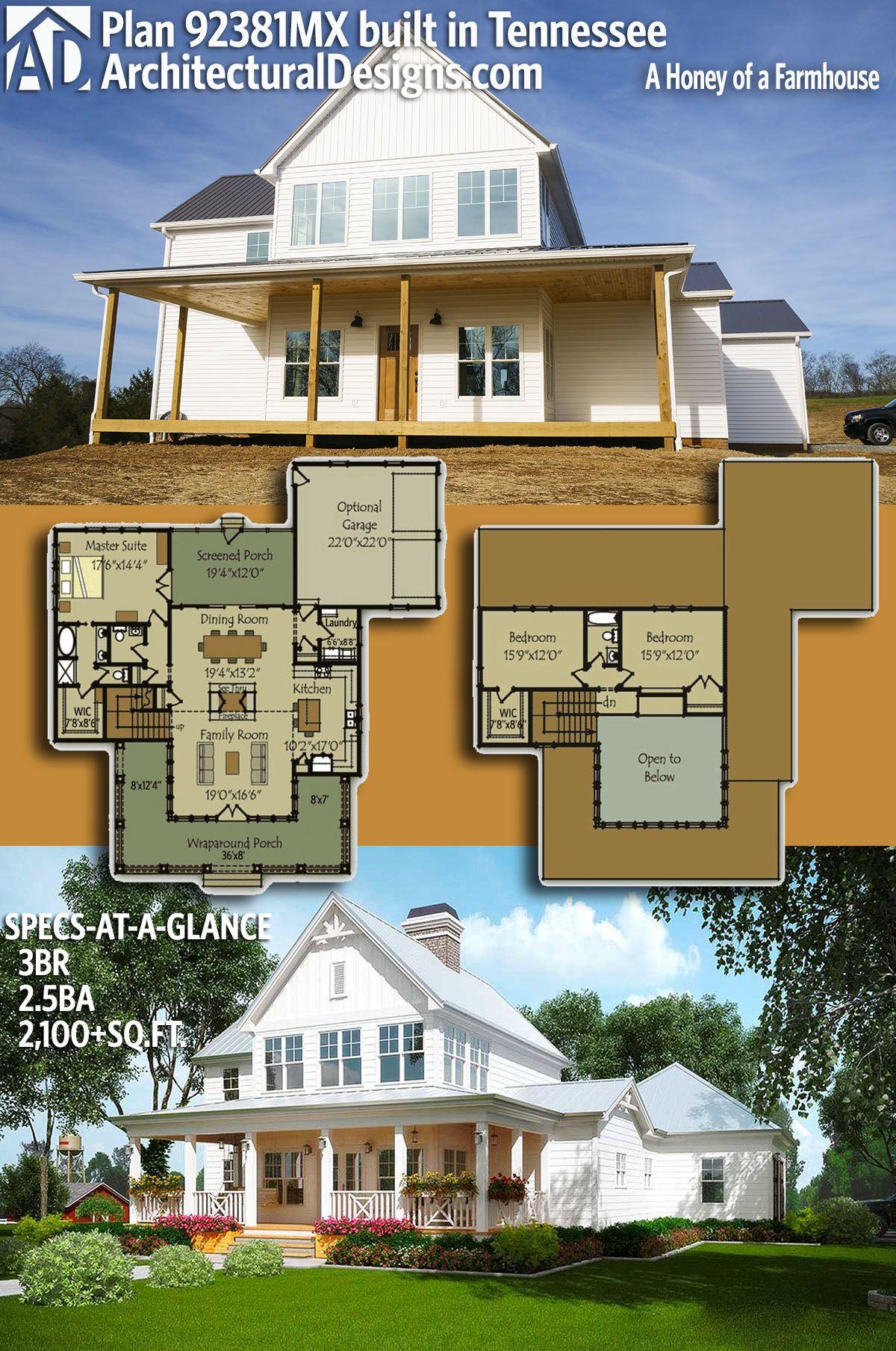 Farmhouse Home Design Under Sq Feet on