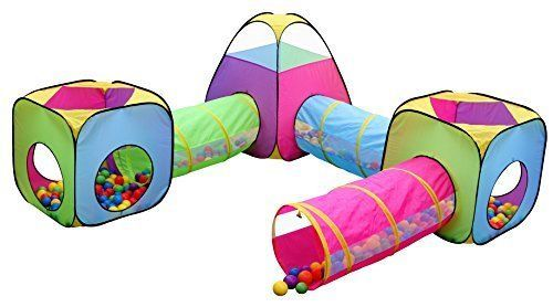 Playhouse Summer Kids Play Tent Tunnel Toy Indoor Outdoor Child Pop up Set 6 Pcs  sc 1 st  Pinterest & Playhouse Summer Kids Play Tent Tunnel Toy Indoor Outdoor Child ...