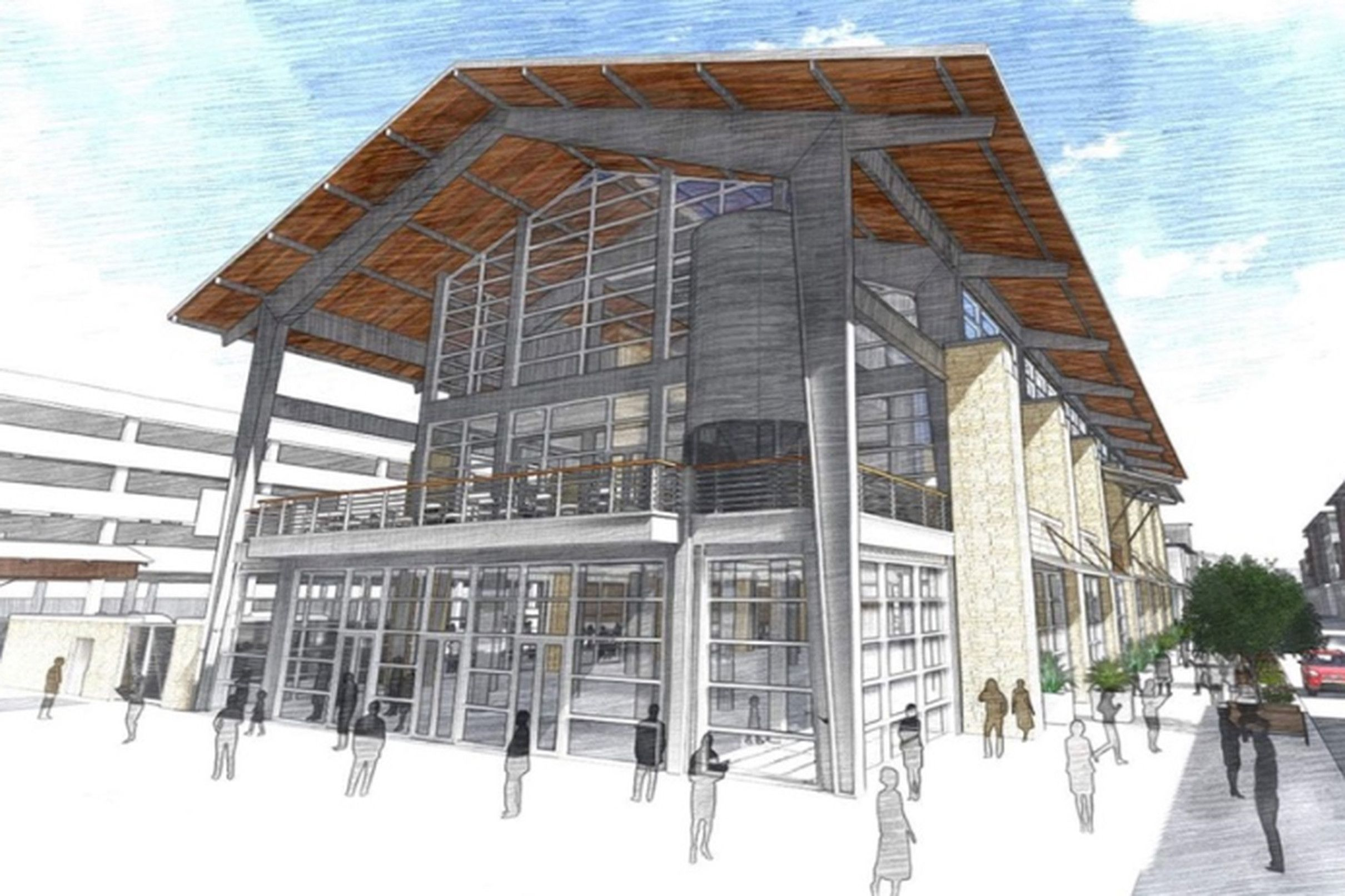 Detour Will Bring Wine Charcuterie To Plano S Forthcoming Legacy Hall Food Hall Plano Legacy