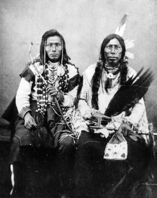 When traders brought smallpox to the 1,600-some Mandan Indians of ...