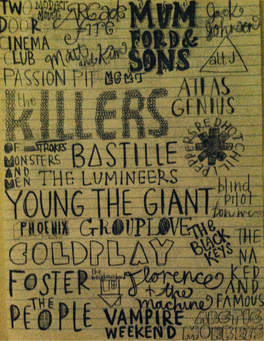 Lyrics containing the term: Indie