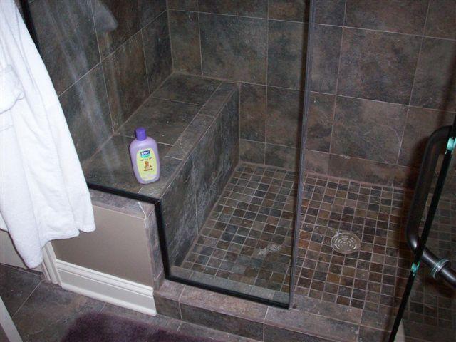 Tiled Shower Stalls. Gallery Of Master Bath Progress Finished ...
