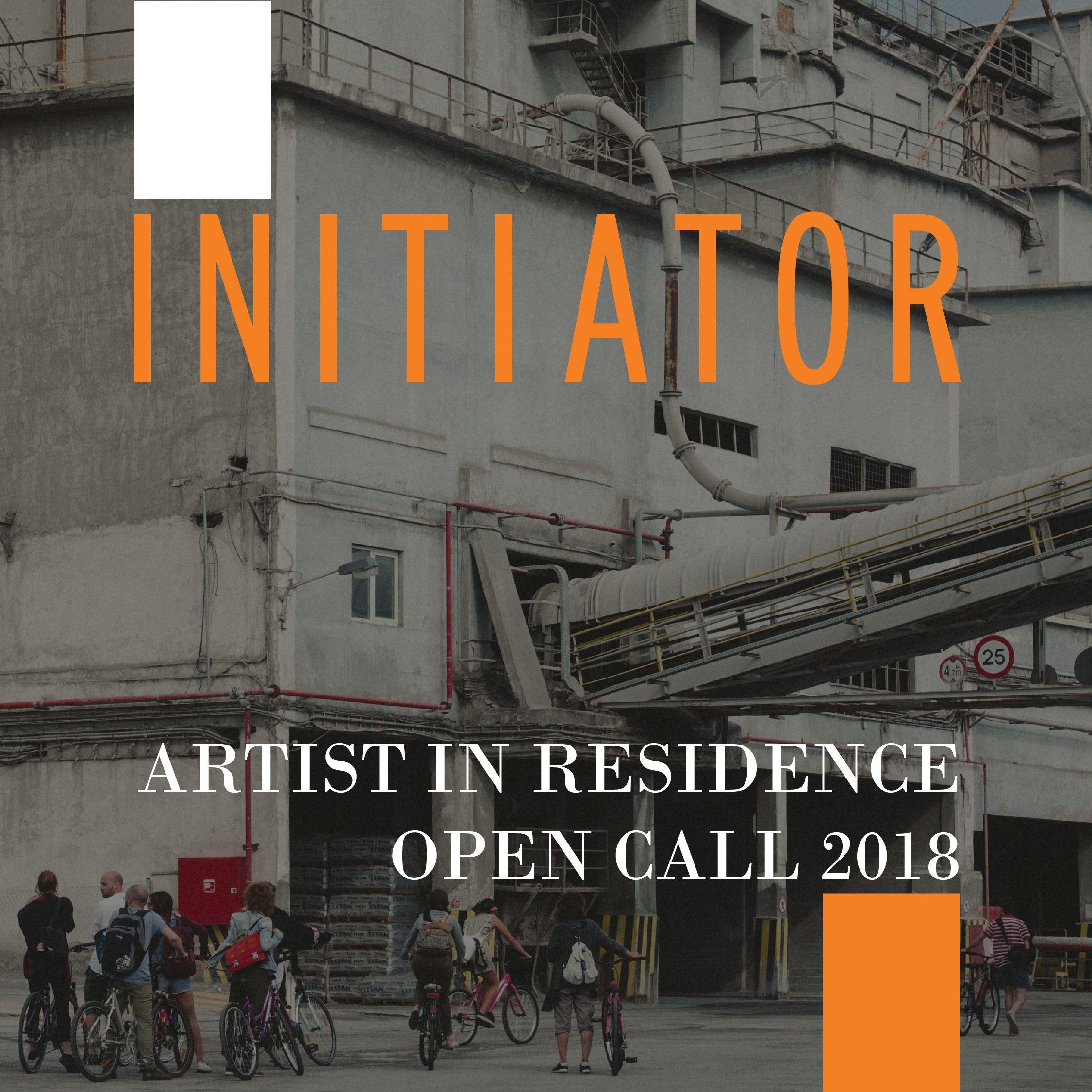 Initiator artistinresidence programme eleusis 2021