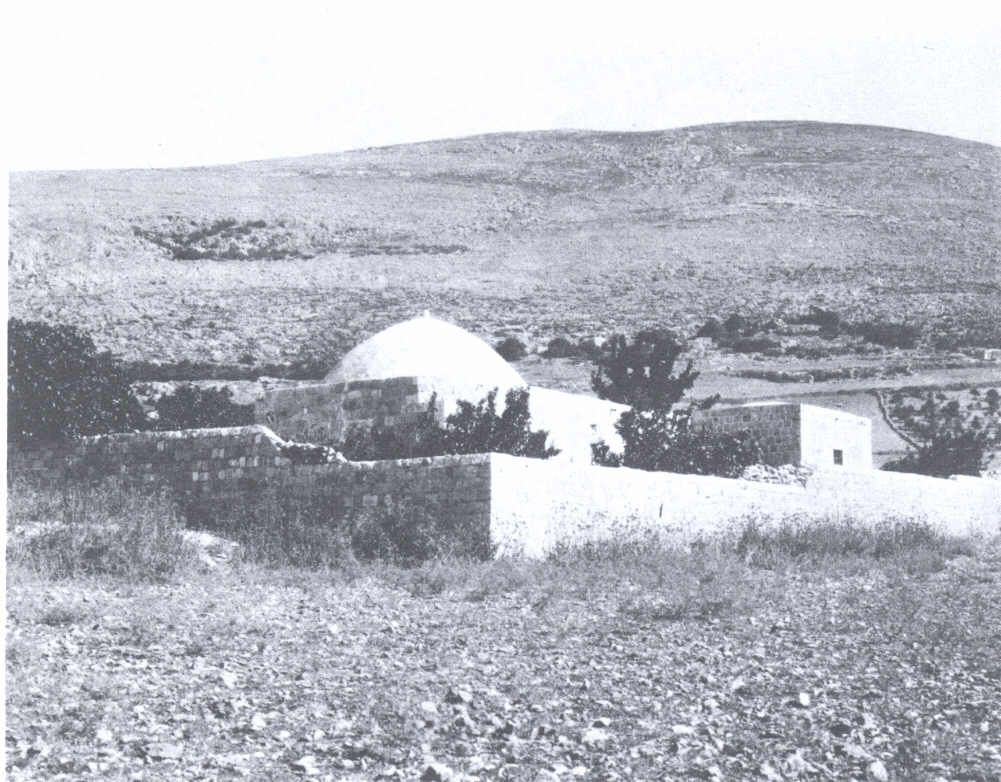 نابلس نابلس صورة قديمة لمقام النبي يوسف 12343 فلسطين في الذاكرة Sehir