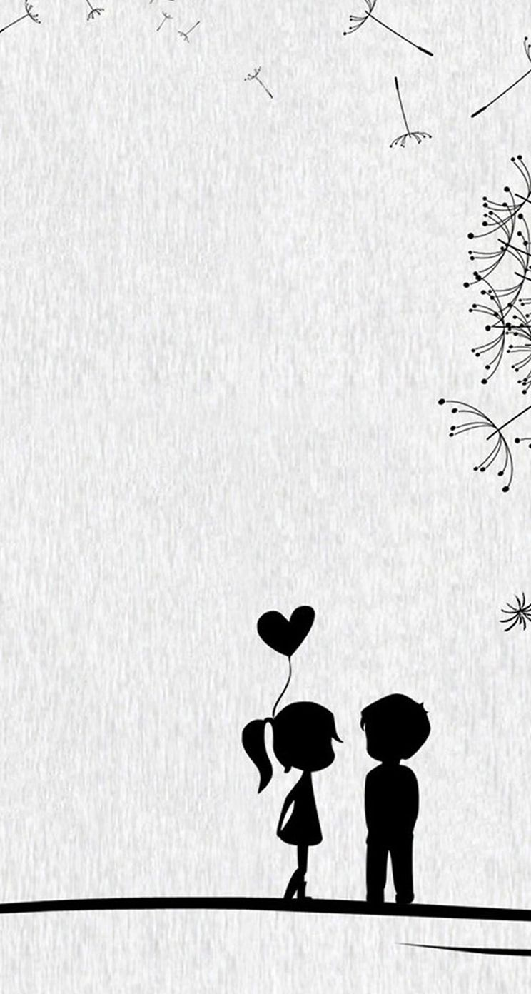 Cute Cartoon Couple Wallpapers Wallpaper Cave Cute Couple Wallpaper Wallpaper Iphone Love Cute Iphone 6 Wallpaper