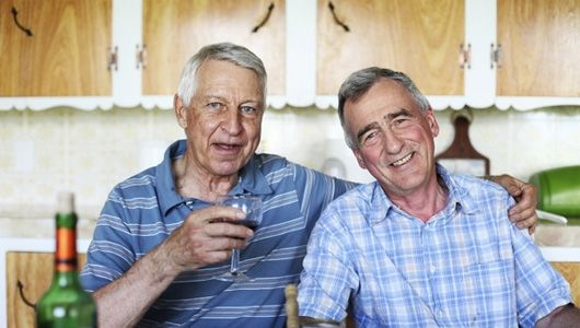 Older gay male social services