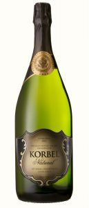 Korbel's Russian River Valley Natural Cuvée, in magnum, featuring the inaugural seal on its neck. Photo: Korbel Cellars