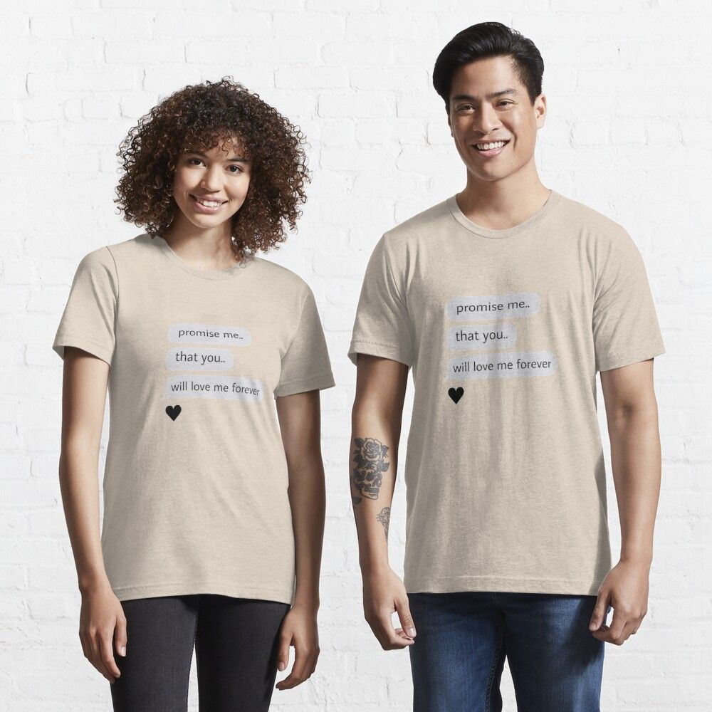 Love for ever Essential T-Shirt by Onamiro