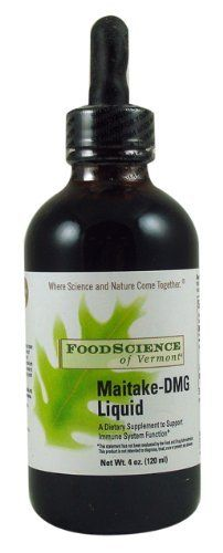 Food Science Of Vermont Maitake-DMG Liquid 120 Ml, 4 Fluid