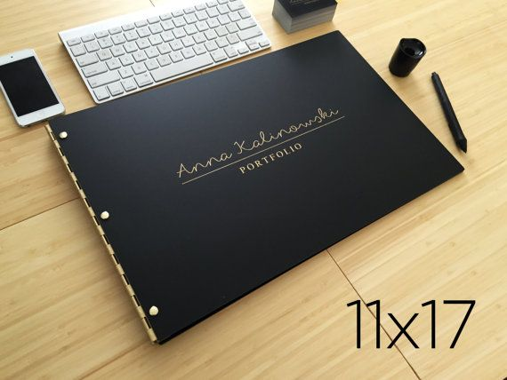 11x17 Landscape Matte Black Portfolio Case 11x17 Portfolio Etsy Portfolio Book Portfolio Covers Portfolio Cover Design