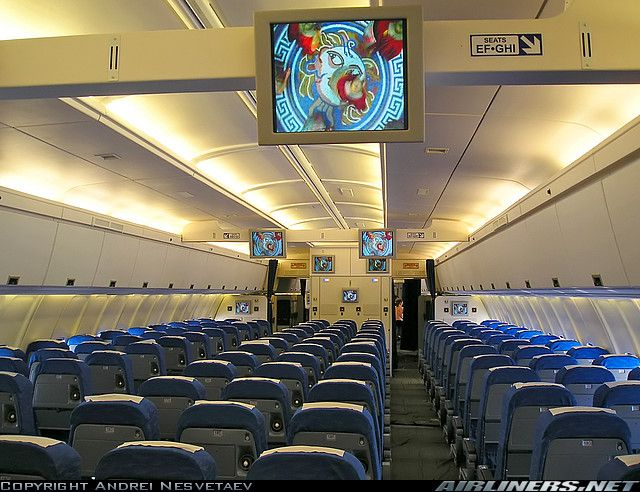 Photos Ilyushin Il 96 300 Aircraft Pictures Airliners Net Ilyushin Il 96 Airplane Interior Aircraft Interiors