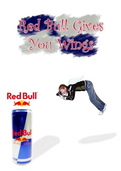 Red Bull Gives You Wings | Red Bull | Pinterest | Wings ...