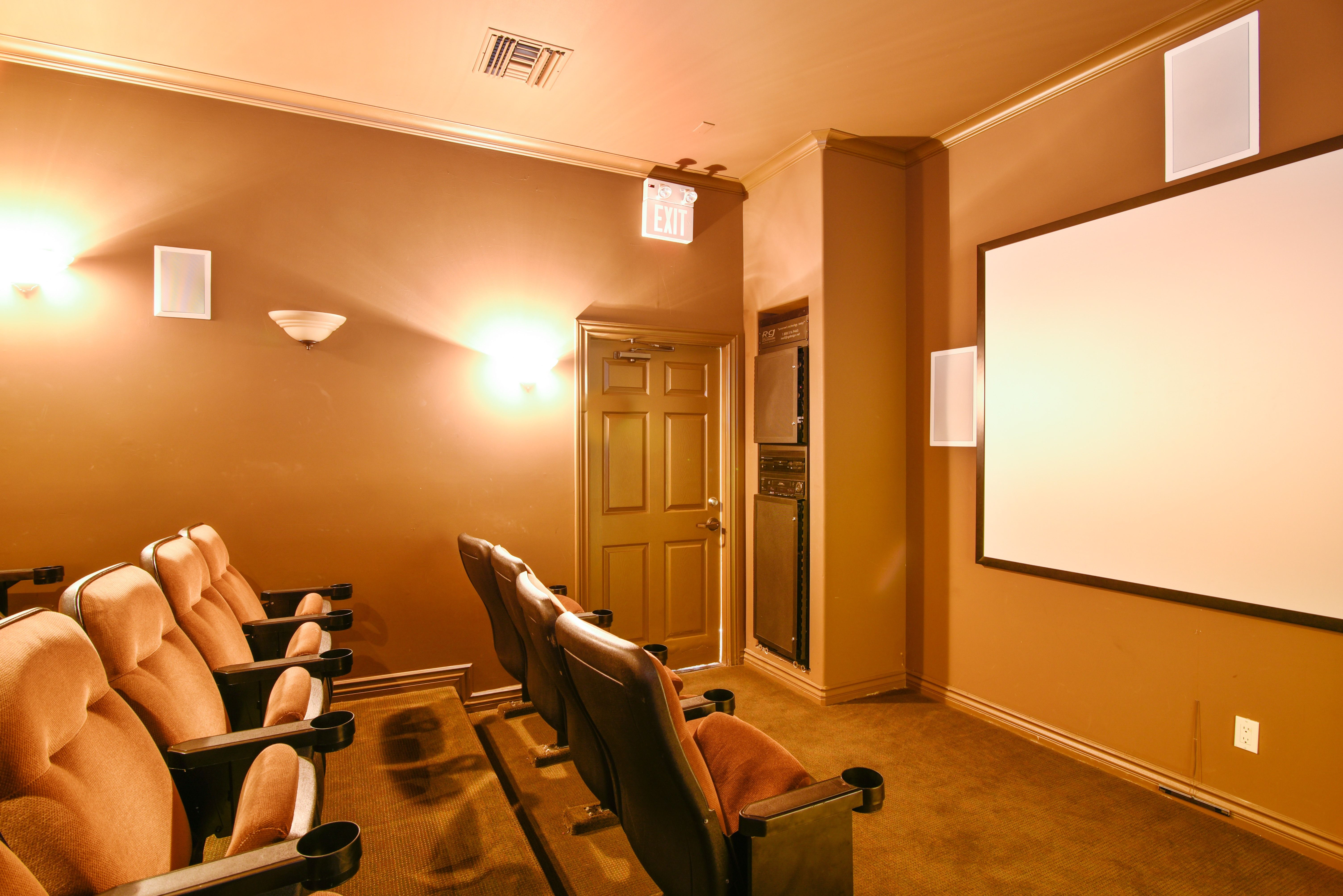 Do You Love Movies Residents At Capella At Rancho Del Oro In Oceanside Ca Has An Onsite Resident Renting A House Bedroom Floor Plans 3 Bedroom Floor Plan