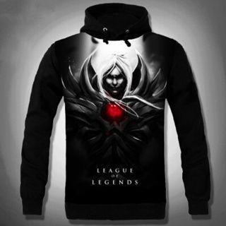 LOL League of Legends black hoodie 3D Vladimir for boys