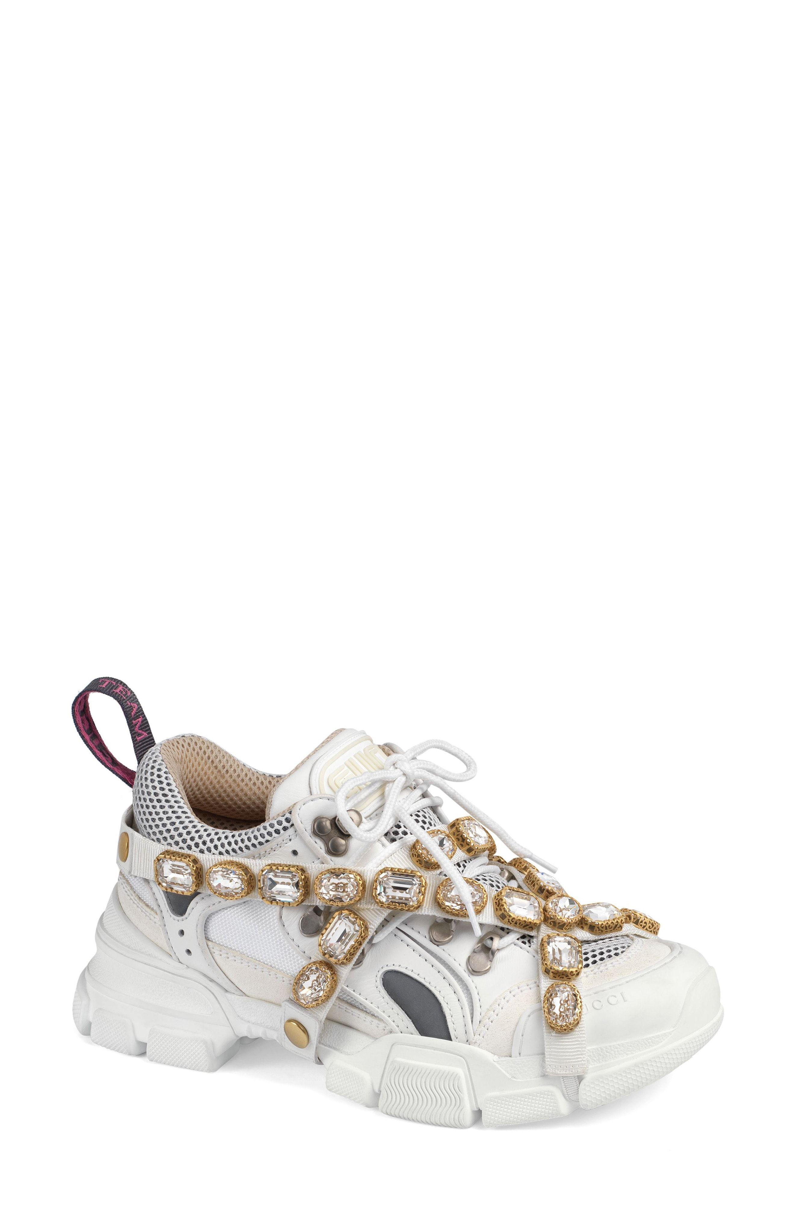 eb42d2f9b Gucci Journey Jewel Embellished Sneaker (Women) | #STYLECHAT STYLE ...