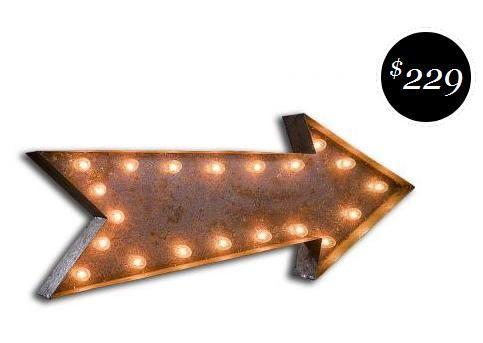 DIY Solar Power Vintage Arrow Marquee! | Vintage marquee ...