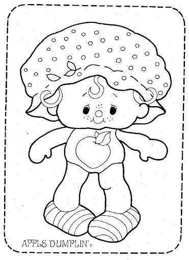 Coloring Book~Strawberry Shortcake - Bonnie Jones - Picasa Web ...