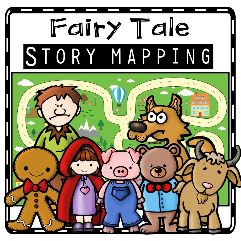 Story Maps Teaching With Fairy Tales In Kindergarten In