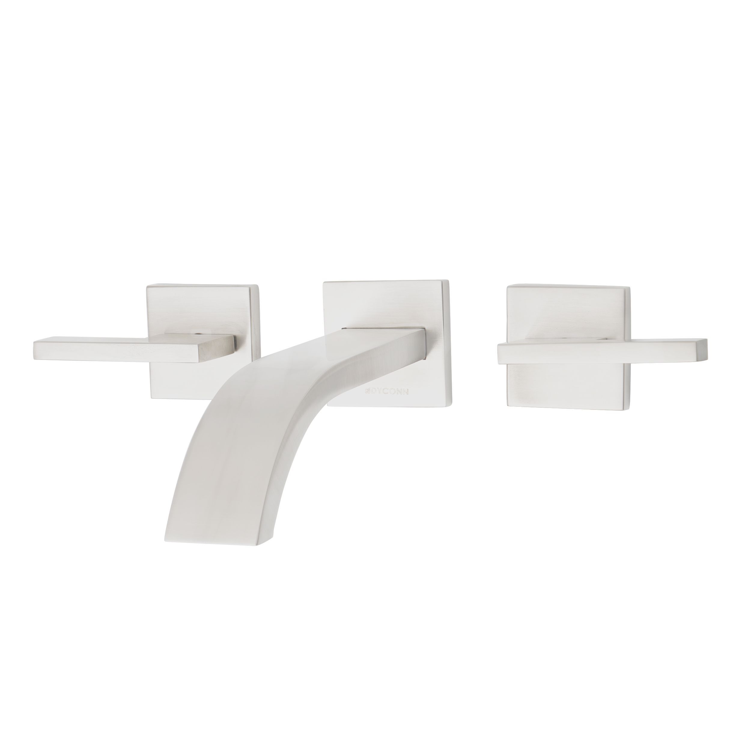 Dyconn Faucet Signature Series Two Handle Modern Wall Mount