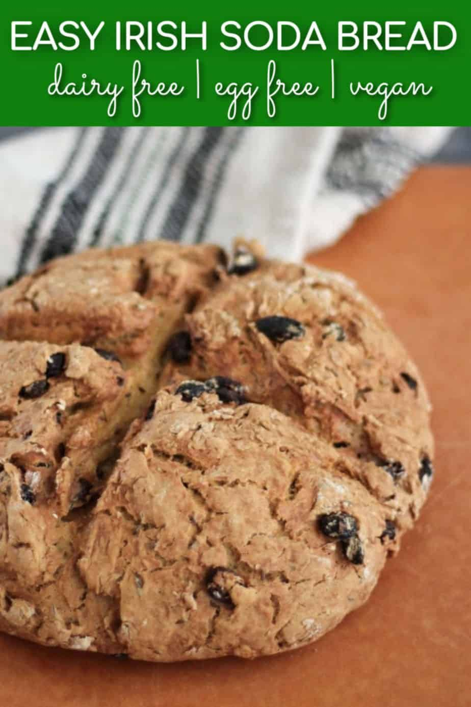 Vegan Irish Soda Bread Recipe With Aquafaba Made Without Buttermilk Yeast Or Eggs In 2020 Aquafaba Recipes Irish Soda Bread Recipe Vegan Soda