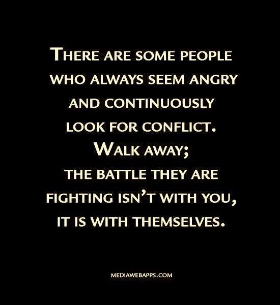 Quotes About Angry People: Dealing With Difficult People