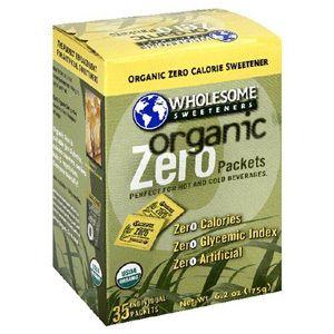 Wholesome Sweeteners Organic Zero, 6.2 Oz. (35 Packets)