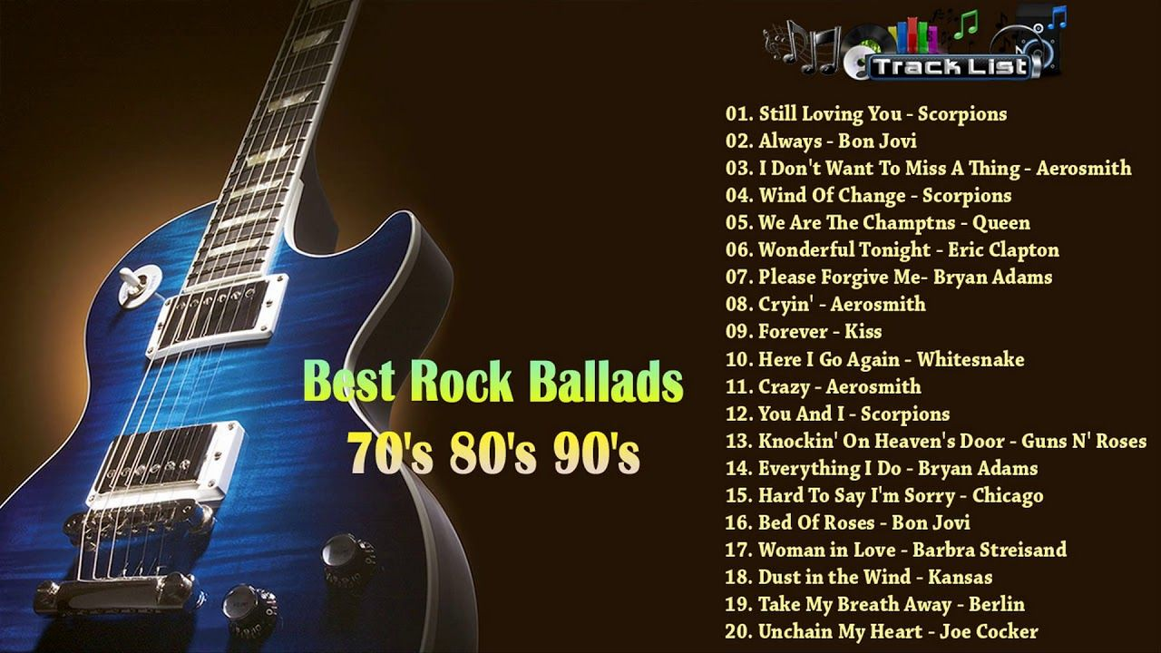 Best 80s ballads of all time