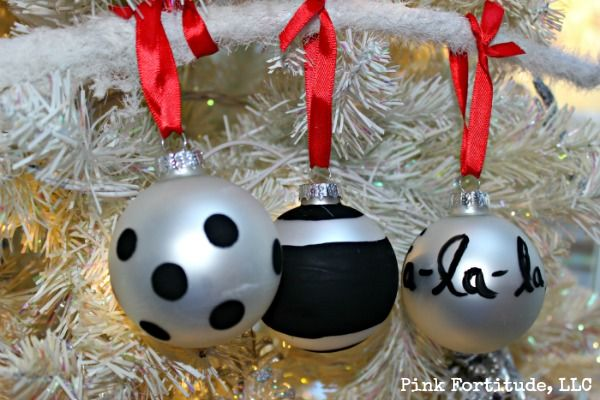 Kate Spade DIY Christmas Ornament DIY Christmas, Christmas