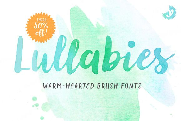 Lullabies Font Family - NEW 50% OFF! by Yellow Design Studio on @creativemarket