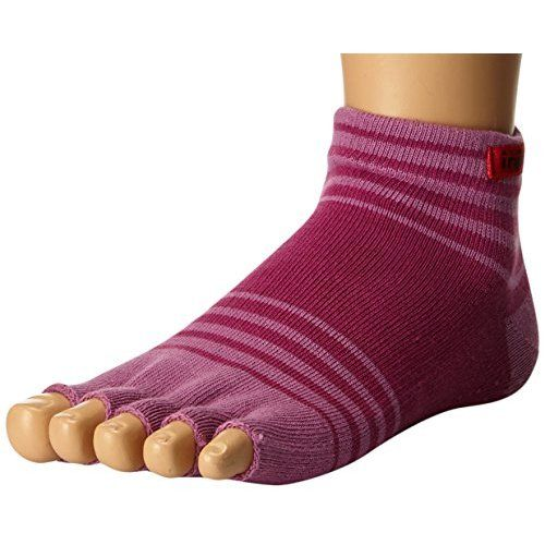 Wiggle Socks From Cerkos: Toe Socks For Men, Toe Separator Socks, Five Finger Socks, 5 Toe Socks, 5 Finger Socks, Toe Shoe Socks For Men (Blue, Grey & Black Wiggle Socks)