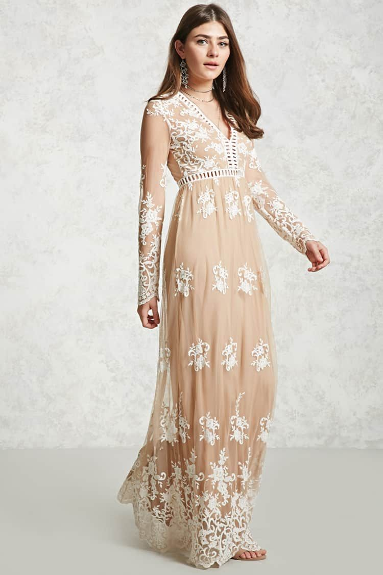 Product Name:Embroidered Maxi Dress, Category:dress, Price:34.9 ...