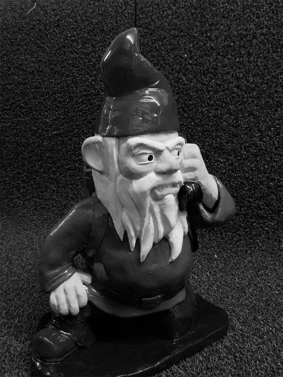 UNPAINTED Combat Garden Gnome Radioman By Thorssoli On Etsy, $49.00