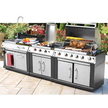 3 In 1 Outdoor Modular Grill Propane For The Home
