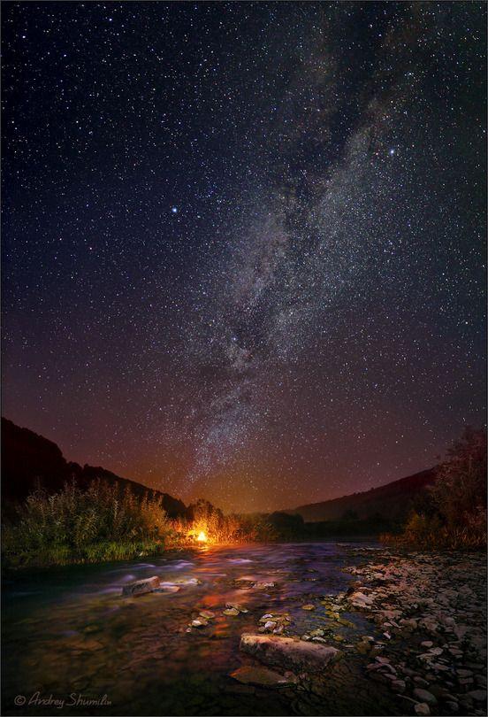 starlit nightscape!