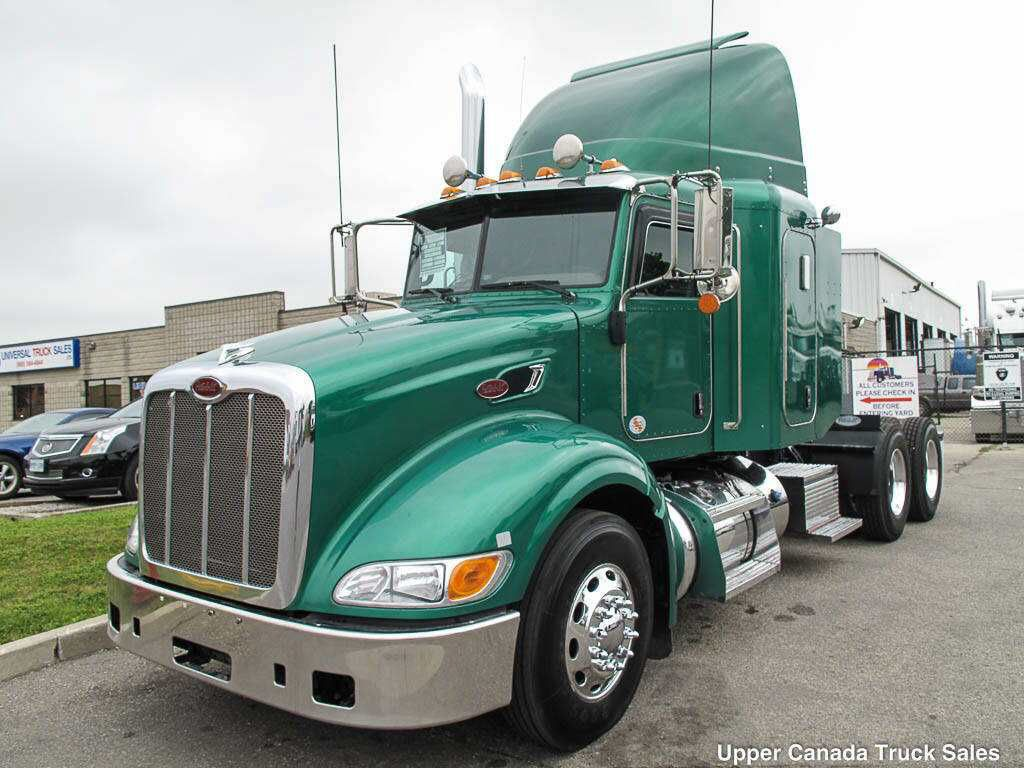 2012 Peterbilt 386, 485HP Paccar MX, 13 Speed RTLO-16913A ...