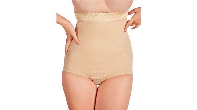 How long to wear abdominal binder after a c-section