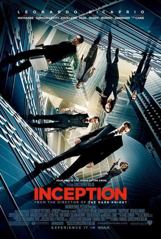 Inception 27x40 Movie Poster (2010) #filmposterdesign