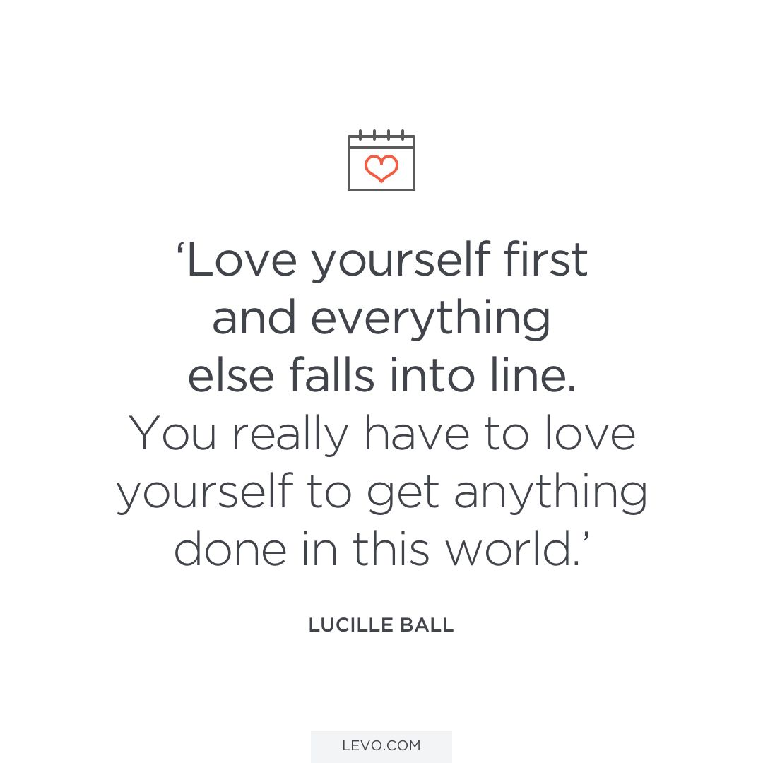 Love Yourself First Quotes 12 Quotes About Self Love That Will Make You So Happy  Clever
