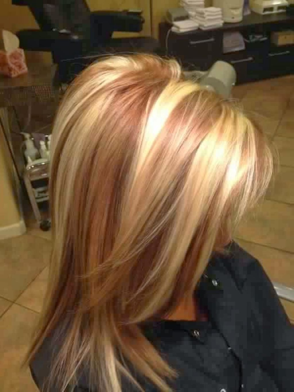 Image Result For Blonde With Red