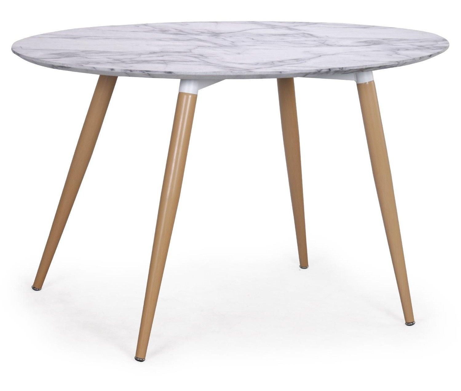 Table A Manger Ovale Effet Marbre Blanc Sicca 130 Cm En 2020 Table A Manger Ovale Table A Manger Table Marbre