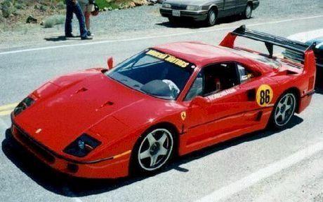 Amir Rosenbaum And Spectre S F40 At Virginia City Hillclimb Ferrari F40 Ferrari Hill Climb