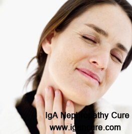Why Does IgA Nephropathy Cause Frequent Sore Throat and Colds