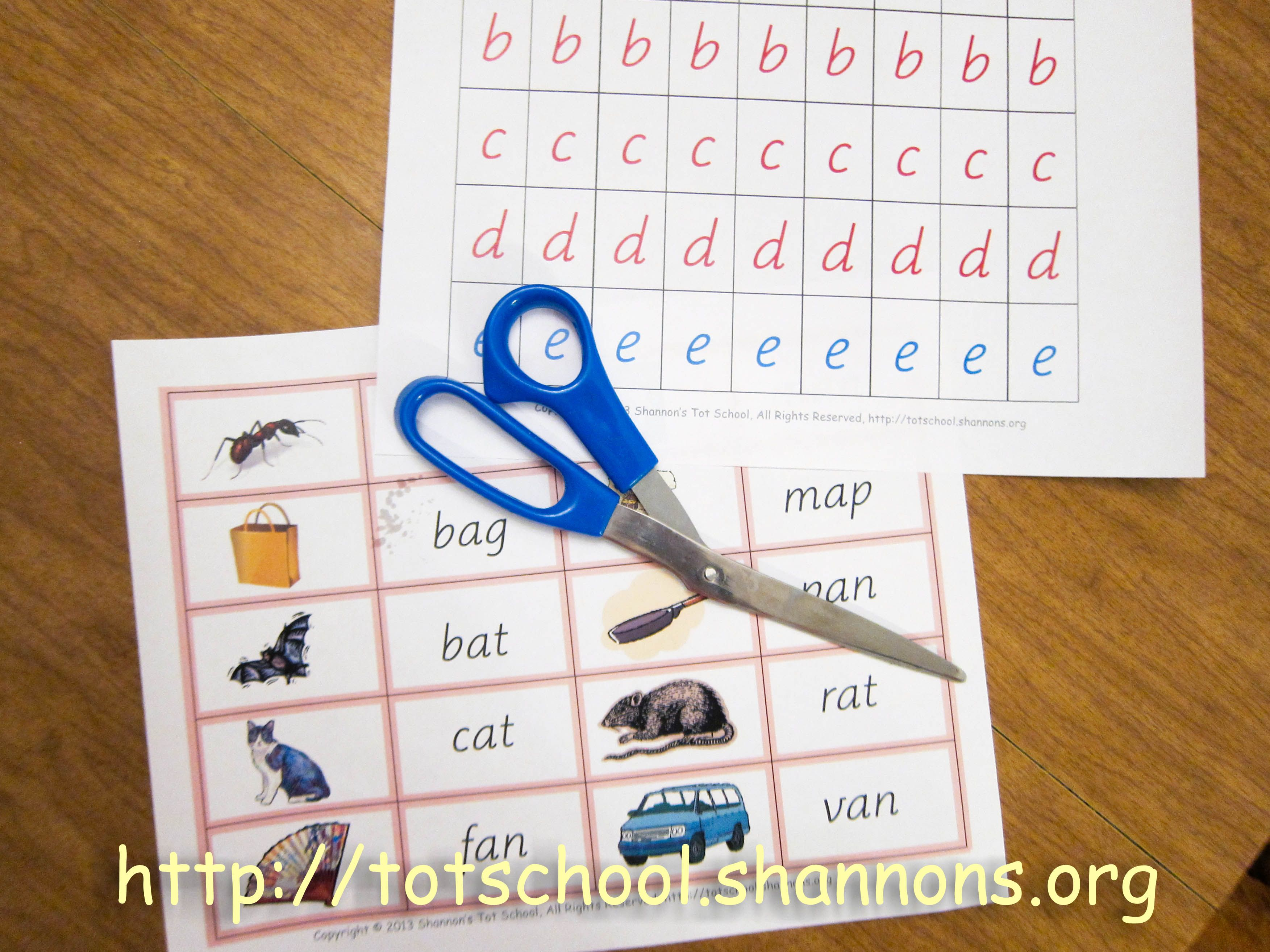Word Building Free Printable Movable Alphabet And Pink