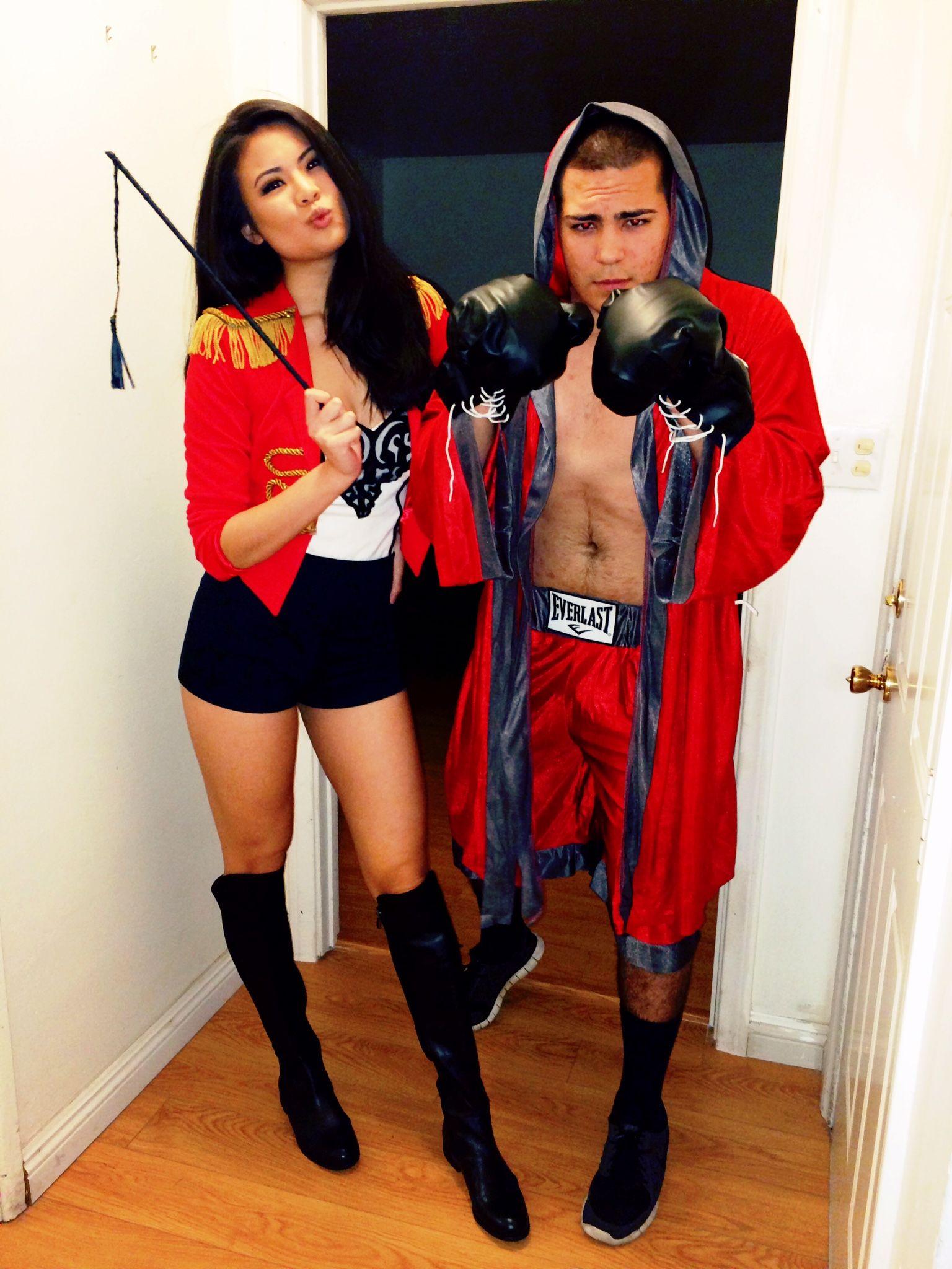 Halloween Costumes - Circus Ring Leader u0026 Boxer  sc 1 st  Pinterest & Halloween Costumes - Circus Ring Leader u0026 Boxer | My DIYs u0026 Crafts ...