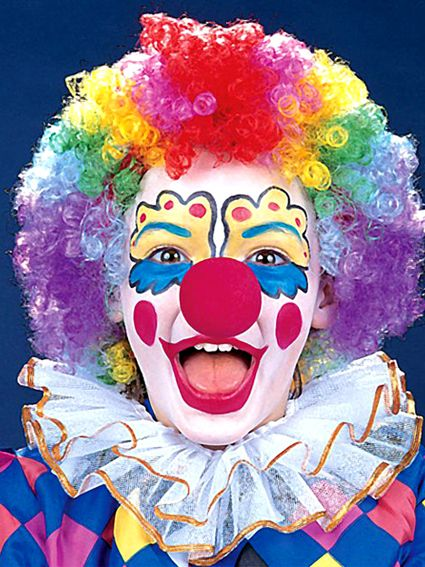 24fcdc979 Clown Faces | Happy Clown Faces Pictures | clowning | Clown wig ...