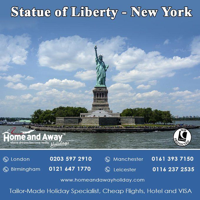 The #statueofliberty is one of the iconic landmark in #NewYork. bit.ly/NewYork_Holida…