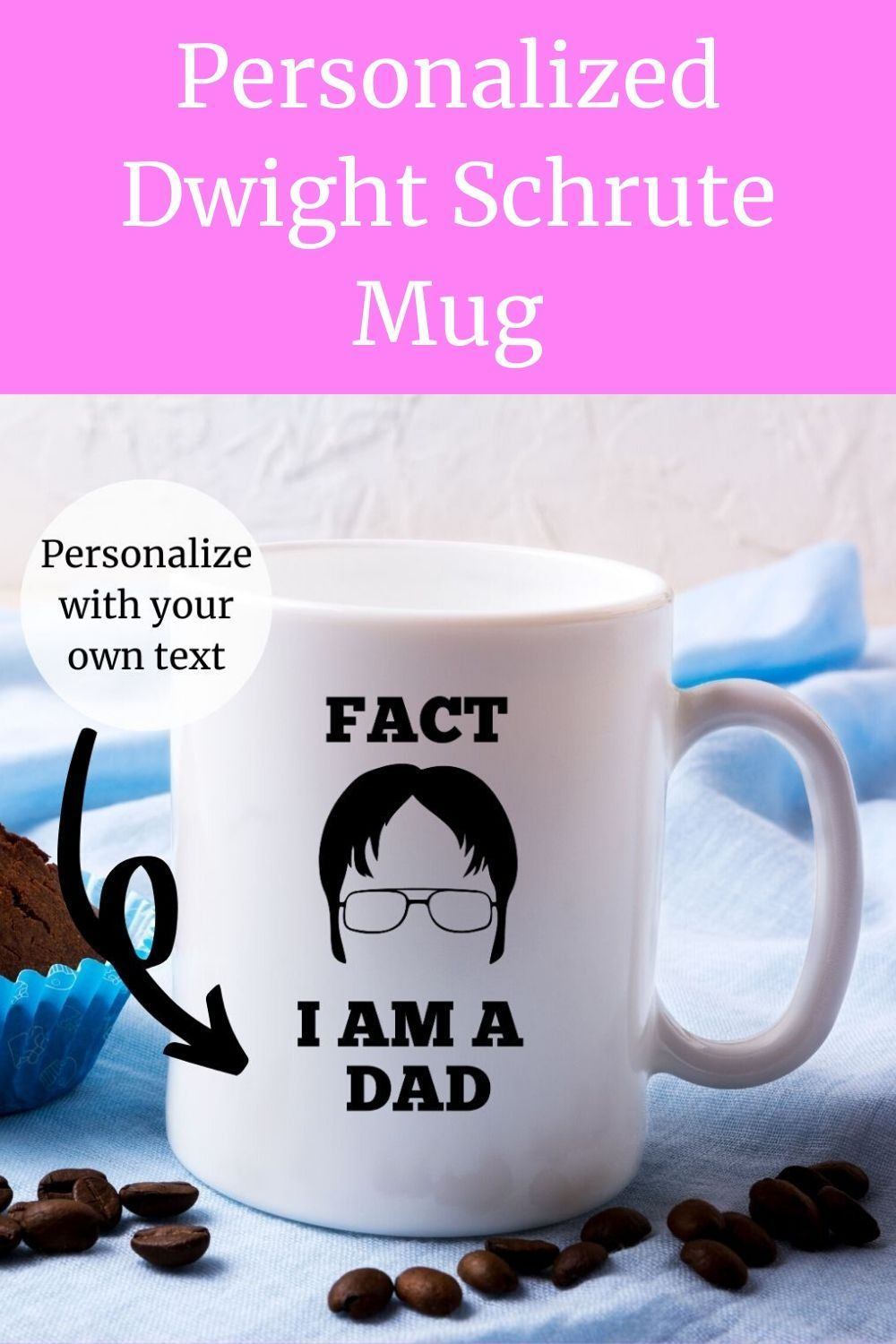 The Office Mug, Personalized Coffee Mug, Father's Day Gift