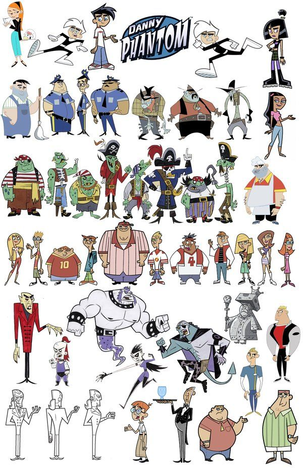 Character Design Nickelodeon : More danny phantom by stephensilver on deviantart